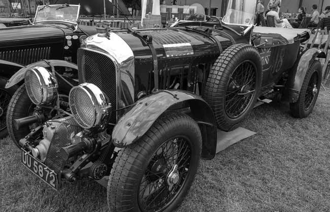 Project - Bentley Blower, Schloss Dyck
